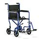The Invacare Lightweight Aluminum Transport Chair